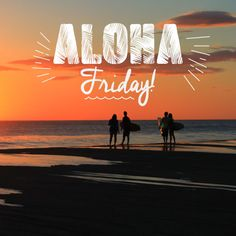 #AlohaFriday - Time to get salty.