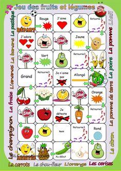 Jeu des fruits et légumes