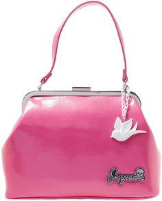 Check out this item on The Violet Vixen Betsy Purse Sparrow Gumball Pink #thevioletvixen