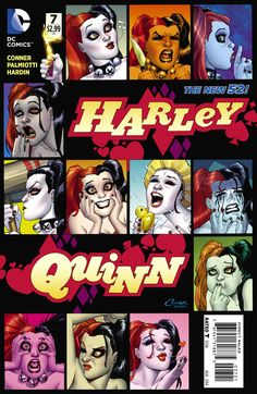 12 face of Harley Quinn (new 52)