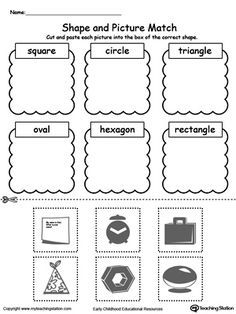 Early Childhood Sorting and Categorizing Worksheets | Worksheets ...