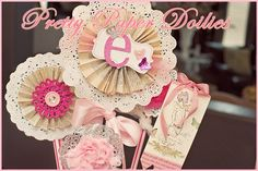 "DIY & Crafting Corner: Valentine's Day Ideas Using Paper Doilies at "" The White Library"""