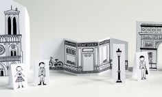 travel size printable paris - - so cute! This would be a great play project...color them, cut out, & play...or put on magnets