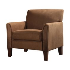 Kingstown Home Warner Microfiber Arm Chair