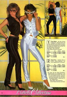 Catalogs Catalog for Solid Gold Dancers 80s Disco Fashion, Bad Fashion, 2000s Fashion, Fashion History, At The Disco, Disco 80, Italo Disco, Retro Outfits, Vintage Outfits