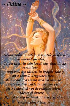 ~ Odine ~ Carte de Iubire~: ~ Am nevoie de tine în visul meu ~ (Poem de dragoste XXIV)