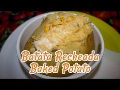 Batata Recheada - Receitas de Minuto #24
