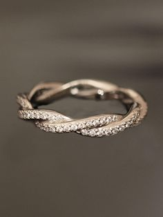 Double Twist Eternity Band. Love this!