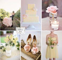 Blush and Yellow Wedding Inspiration