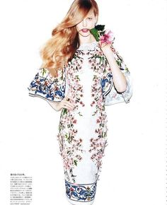 Vogue Japan - As Flowers Bloom
