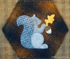 Moose Bay Muses: Autumn Banner--just a little more stitching!