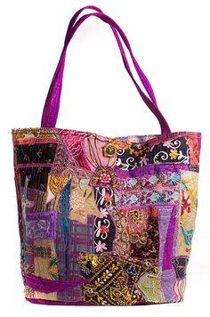 Handbag, beautiful patches