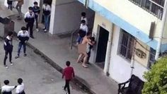 Professore cerca di stuprare studentessa nel cortile della scuola in pieno giorno (foto)