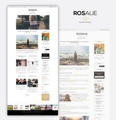 Rosalie WordPress theme