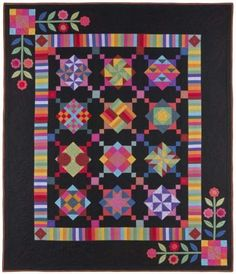 Amish with a Twist Complete Quilt Kit