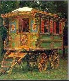 Go gypsy! I might have been a gipsy in a previous life :) love this!