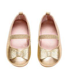 Ballerina's | Goudkleurig | Kinderen | H&M NL