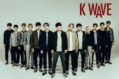 SEVENTEEN derrite corazones en sesión de fotos para K-WAVE