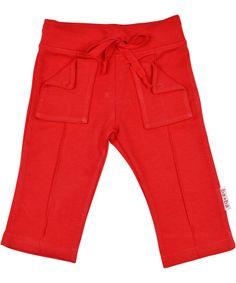 Baba Babywear hippe rode retro broek. baba-babywear.nl.emilea.be