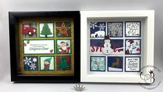 Picks from My Pals Community! (Mary Fish, Stampin' Pretty The Art of Simple & Pretty Cards) Christmas Rose, Christmas Frames, Stampin Up Christmas, Christmas Cards, Christmas Projects, Christmas Ornaments, Stampin Pretty, Puff Paint, Collage Frames