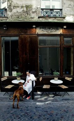 Dorathee recommends Frenchie Restaurant - Paris, France and Thomas Keller was sitting next to her