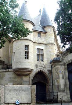 """PARIS - Hôtel de Clisson, 58 rue des Archives, dans """"le Marais"""" , 3rd arrondissement"""