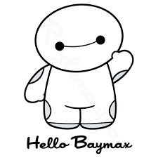 Adorable little baby Baymax