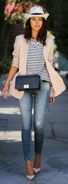 15 blush blazer spring outfits you need to try 6 - 15 blush blazer spring outfits you need to try