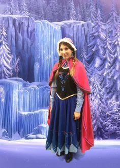 #cosplay #costume #photo #greenscreen #cosmoviex #festivaladelfumetto #fiera #novegro #milano #anna #frozen #disney #ice #snow #elsa #olaf