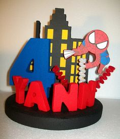 Centros De Mesa Para Fiesta De Spiderman Lego Party