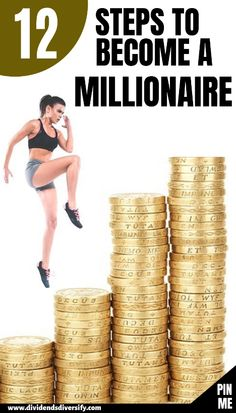 Do you want to know how to become a millionaire? Then learn about the 12 habits to build your wealth. Put them in practice and become a millionaire too! Millionaire Next Door, Become A Millionaire, Savings And Investment, Savings Plan, Investing Money, Saving Money, Dividend Investing, How To Become Rich, Money Matters
