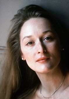 Meryl Streep. I never used to think of her as pretty. But looking back she was really classically beautiful (and still is).