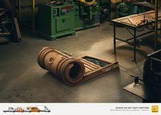 New Renault Master. Because you can't adapt everything. Advertising Agency: Publicis Conseil, Paris, France Creative Director: Marcello Vergara
