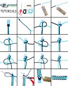 Reverse Stitched Solomon Paracord Bracelet bracelets tutorial 5 Easy Variations on the Cobra Weave, Part 2 Paracord Tutorial, Paracord Bracelet Instructions, Bracelet Tutorial, Macrame Tutorial, Paracord Braids, Paracord Bracelets, Bracelet Knots, Paracord Keychain, Survival Bracelets