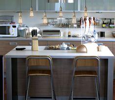 Enhance your kitchendécor w/ #Bulbrite's Nostalgic Bare Pendant. #design