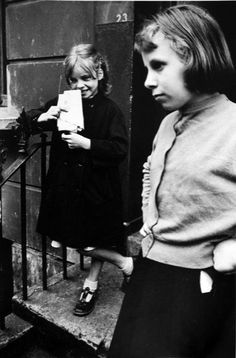 Roger Mayne. Two girls 1961