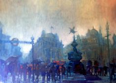 David Hinchcliffe - Rain Over Piccadilly