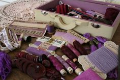 The Beauty of Sewing with shades of purple