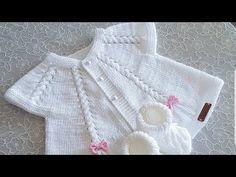 Knit Or Crochet, Crochet For Kids, Crochet Crafts, Crochet Baby, Baby Knitting Patterns, Knitting Designs, Crochet Patterns, Baby Barn, Bebe Baby