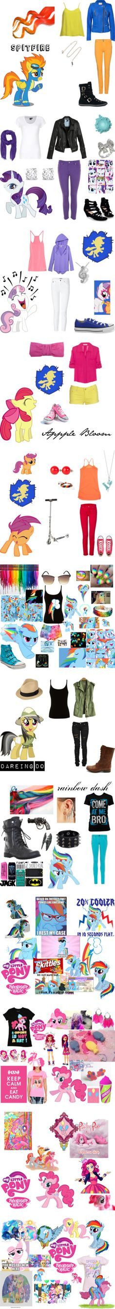 """All things MLP"" by mintymlp8998 ❤ liked on Polyvore"