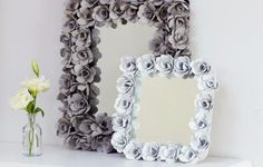 Crafts to Make and Sell - Decorative Mirror From Egg Cartons - Cool and Cheap Craft Projects and DIY Ideas for Teens and Adults to Make and Sell - Fun, Cool and Creative Ways for Teenagers to Make Money Selling Stuff to Make http://diyprojectsforteens.com/crafts-to-make-and-sell-for-teens