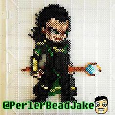 Loki perler beads by  perlerbeadjake