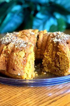 This pumpkin bundt cake with rum glaze is a quick and easy pumpkin recipe! Bake the best pumpkin cake using yellow butter cake mix, pumpkin puree, cinnamon, pumpkin pie spice, and rum. You will love baking this bundt cake recipe for a fall dessert or Thanksgiving dessert!