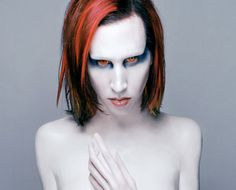 Marilyn Manson - This Is The New Shit Lyrics Marilyn Manson Lyrics, Marilyn Manson Art, Ozzy Osbourne, Twiggy, Rock Bands, Eye Candy, Halloween Face Makeup, Celebrities, Golden Age