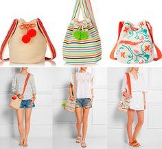 Bolsa saco de crochê | Moda em Crochê