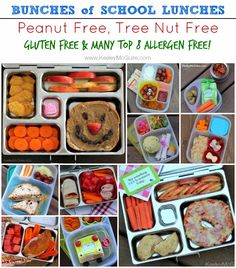 Keeley McGuire: Lunch Made Easy: BUNCHES of {Nut Free, Gluten Free, & Allergy Friendly} Lunches!