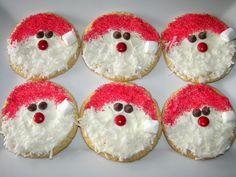 Phaedra's Adventures: Santa Sugar Cookies