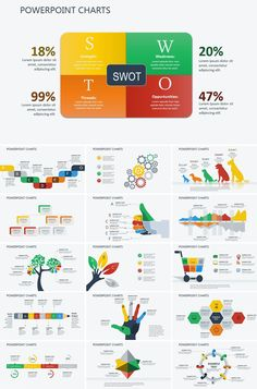 Strategic Analysis PowerPoint charts - Amortization Calculator Based On Payment Amount - Read this before you choose your home insurance - Strategic Analysis PowerPoint charts Powerpoint Chart Templates, Template Web, Infographic Powerpoint, Flyer Template, Brand Presentation, Presentation Templates, Presentation Folder, Swot Analysis, Business Plan Template