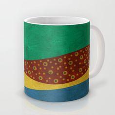 color under the sun (III) Mug by Viviana González - $16.00