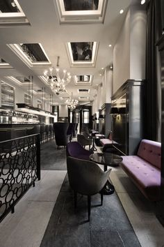 Balthazar Champagne Bar is the new lunch/evening bar designed by Space Copenhagen